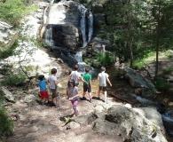 Cascada de la Chorranca<br />y Cueva del Monje