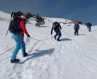 Curso de iniciación al alpinismo invernal