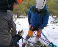 Curso de iniciación al<br/>alpinismo invernal
